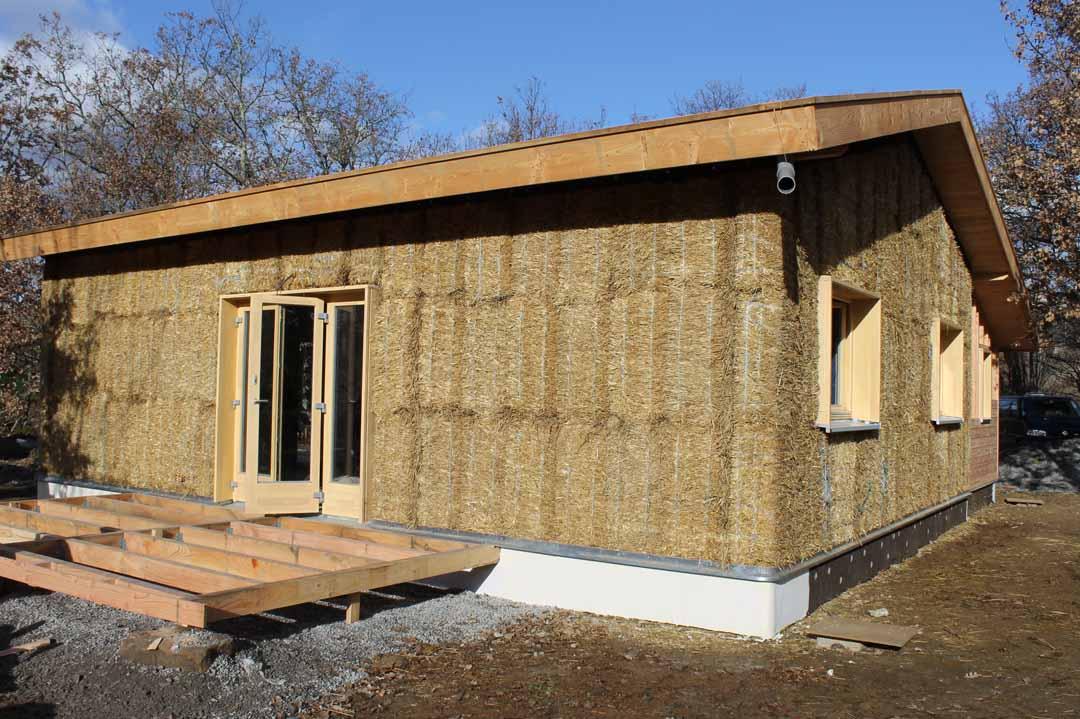 Design maison en bois et pierre la rochelle 16 maison - Maison de la literie plan de campagne ...