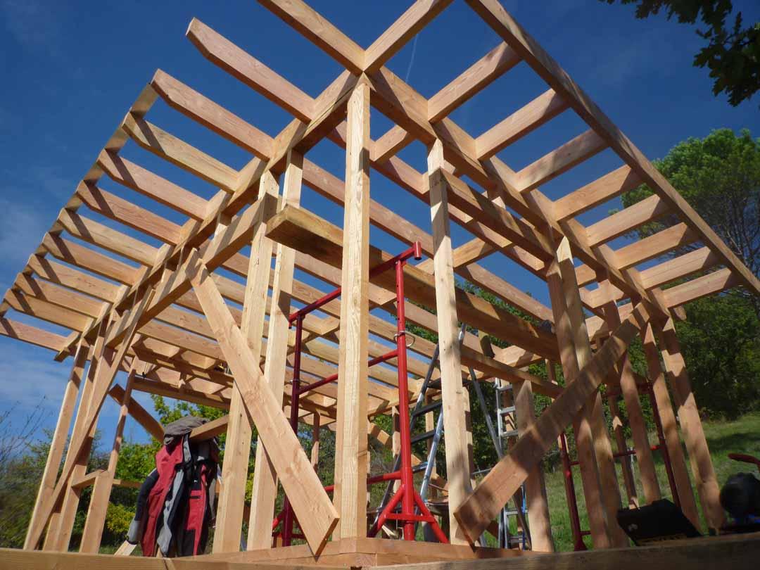 Agen - Structure bois cabane