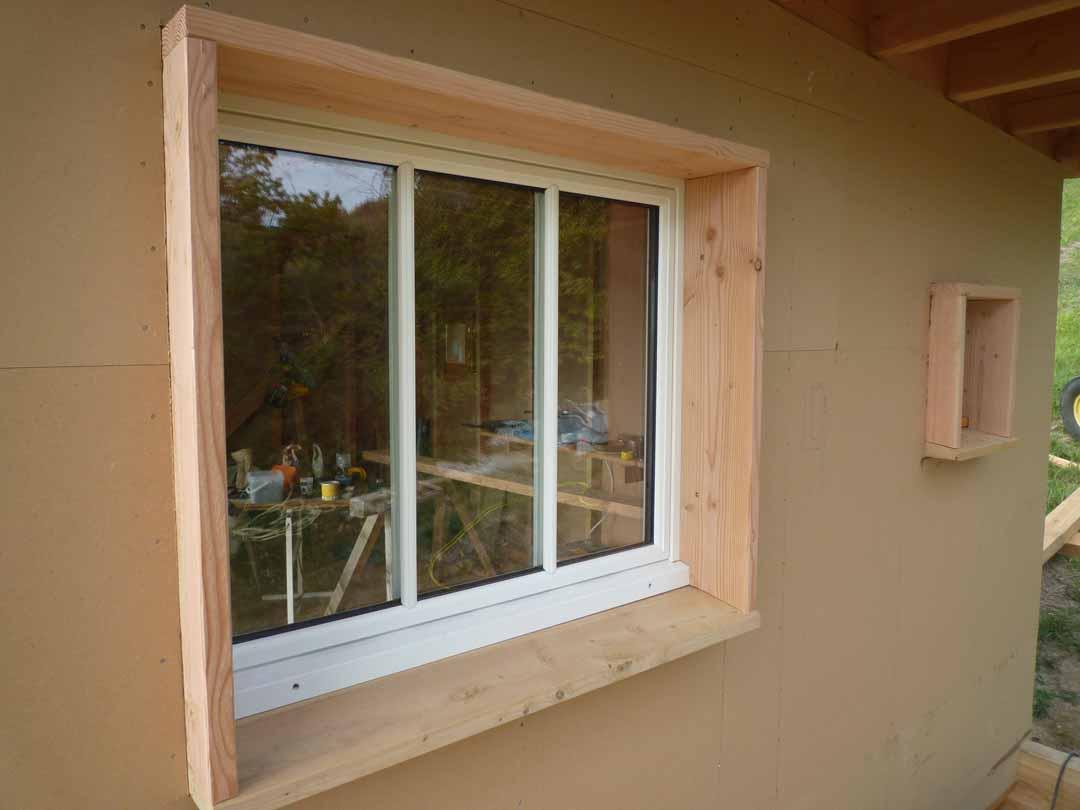 agen cabane ossature bois toiture v g talis e de pierres et de bois. Black Bedroom Furniture Sets. Home Design Ideas
