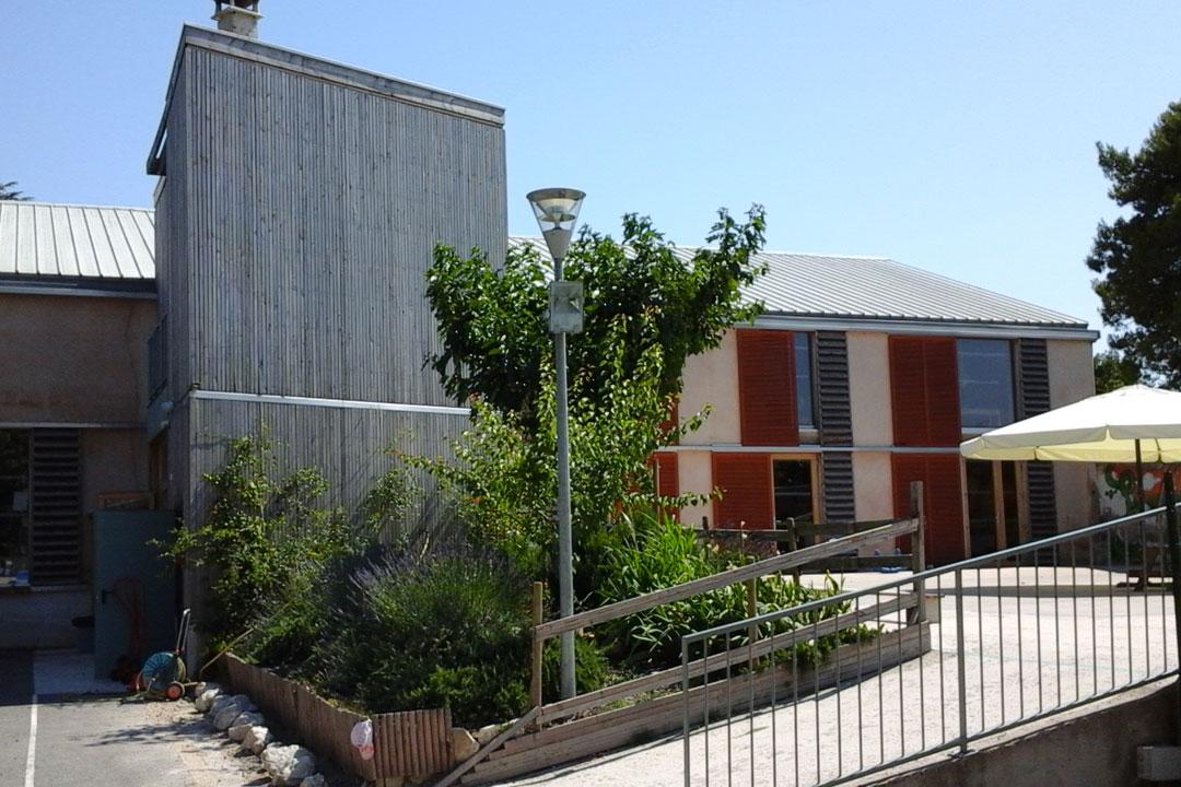 Ecole Montessori d'Avignon, isolation naturelle
