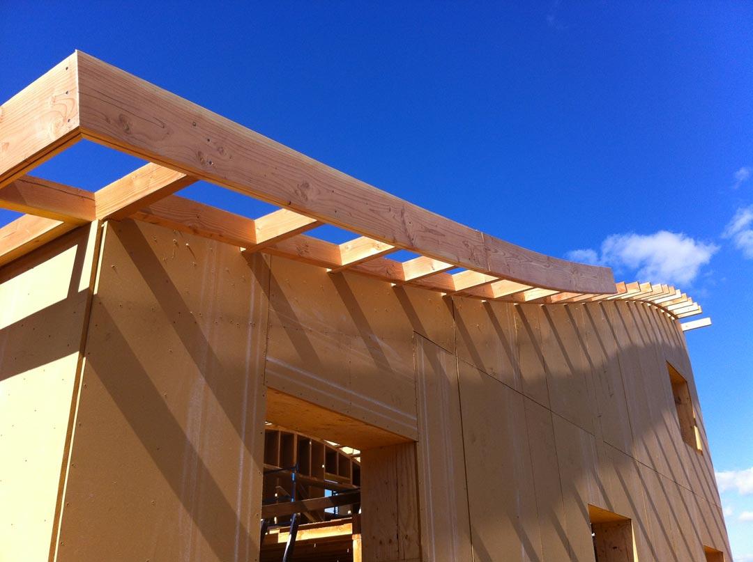 L'ossature bois permet de grands défis constructifs