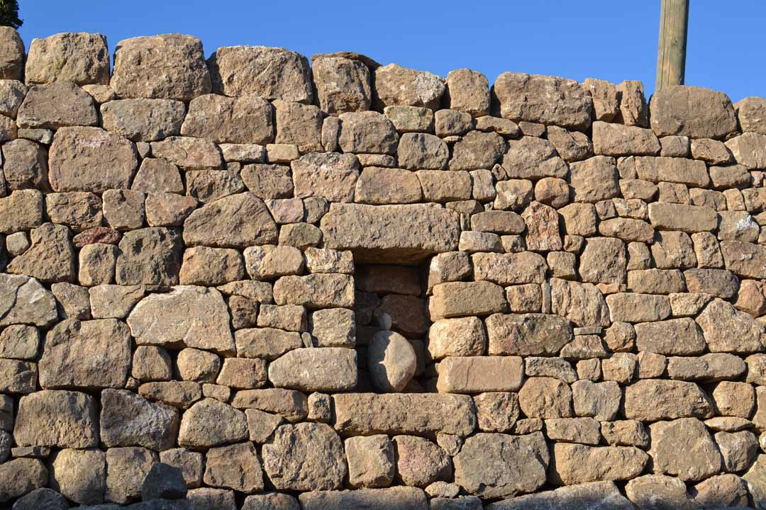 valousset - niche mur en pierre sèche