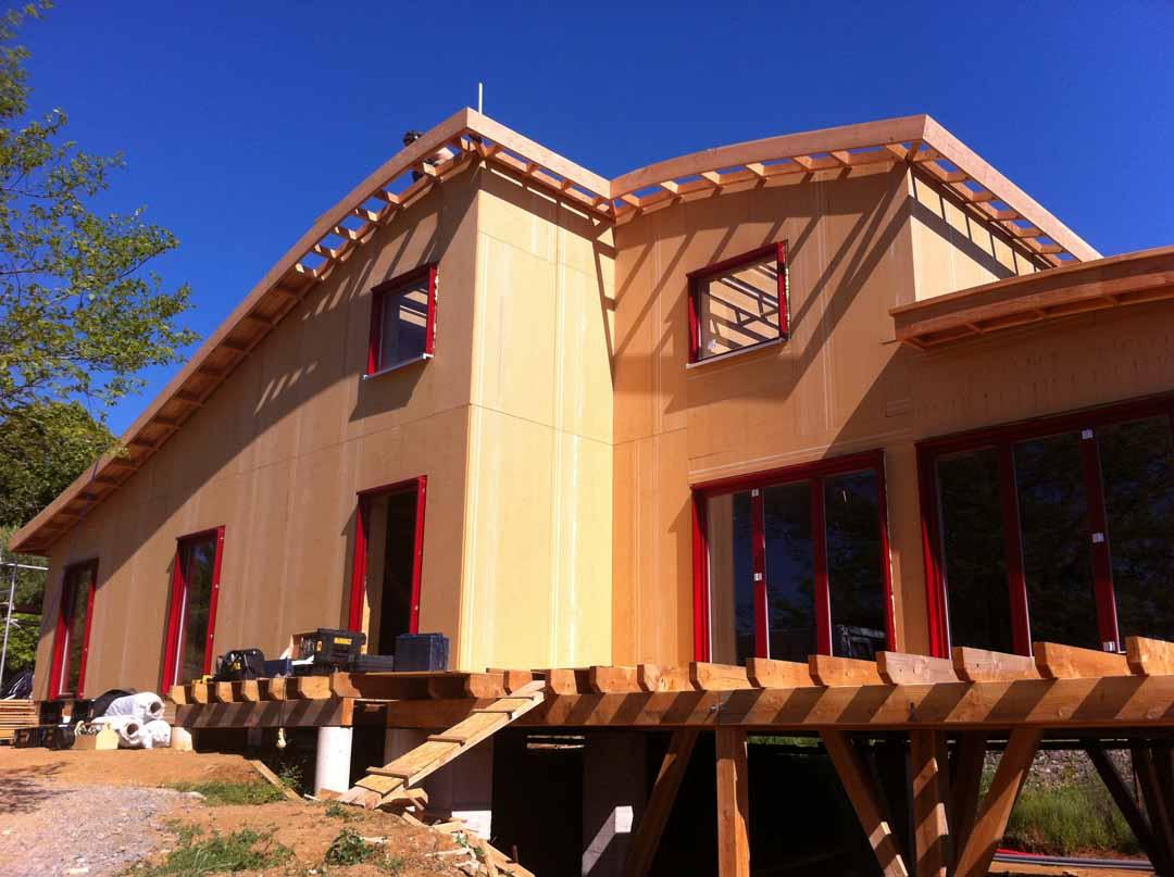 Les Vans - Maison ossature bois