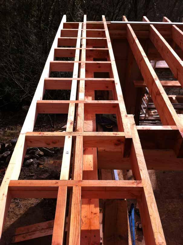 vesseaux extension bois toiture plate de pierres et de bois. Black Bedroom Furniture Sets. Home Design Ideas