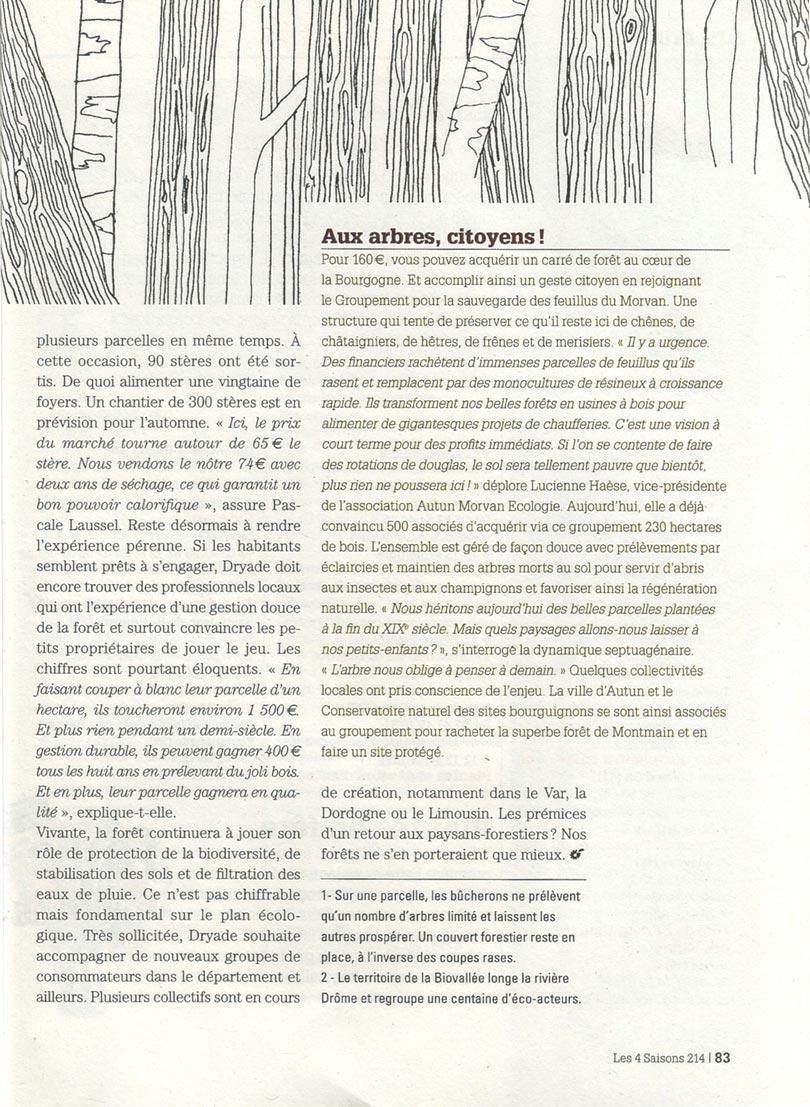 Bois d'ici - article Les 4 saisons - page 4