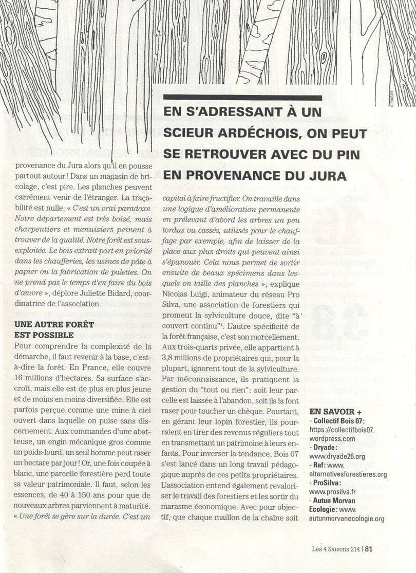 Bois d'ici - article Les 4 saisons - page 2