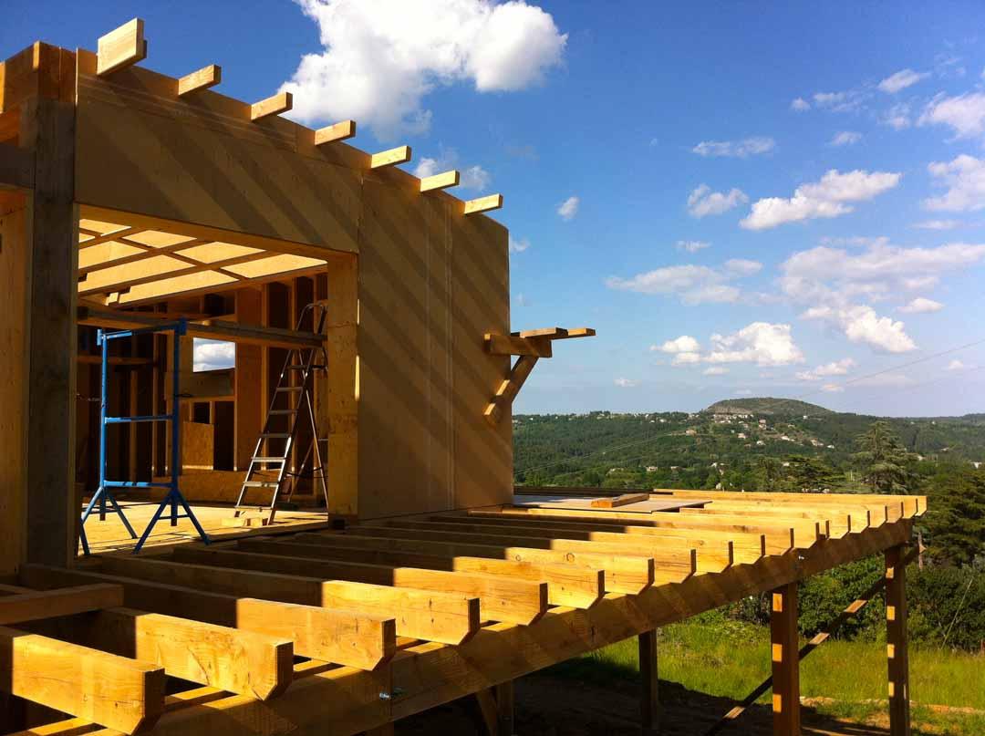 Les Vans - Terrasse bois
