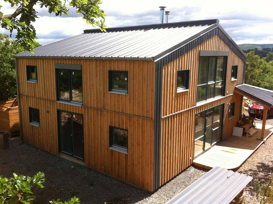 Chandolas - Maison bardage bois