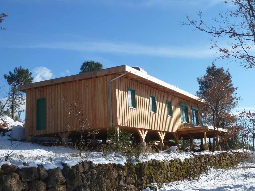 Maison En Paille Constructeur u2013 Avie Home # Constructeur De Maisons En Bois
