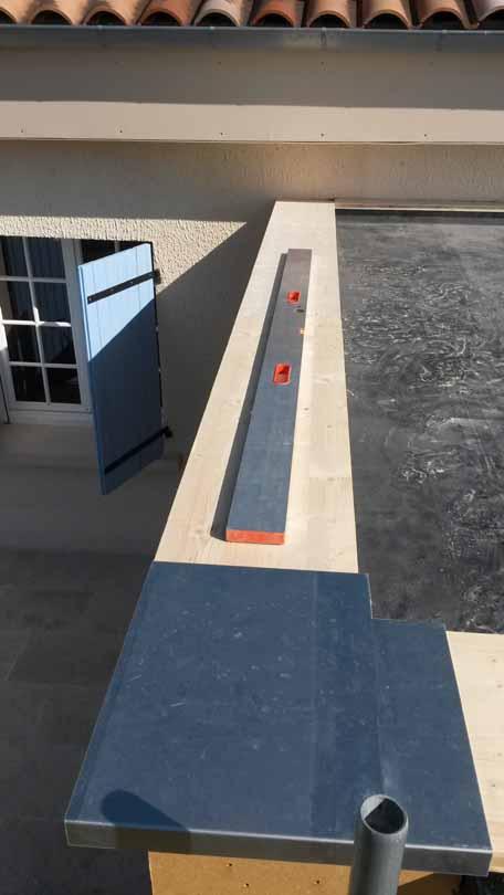 vinezac extension ossture bois toiture v g talis e de pierres et de bois. Black Bedroom Furniture Sets. Home Design Ideas