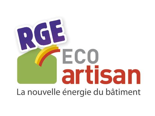 Logo RGE Eco artisan et lien