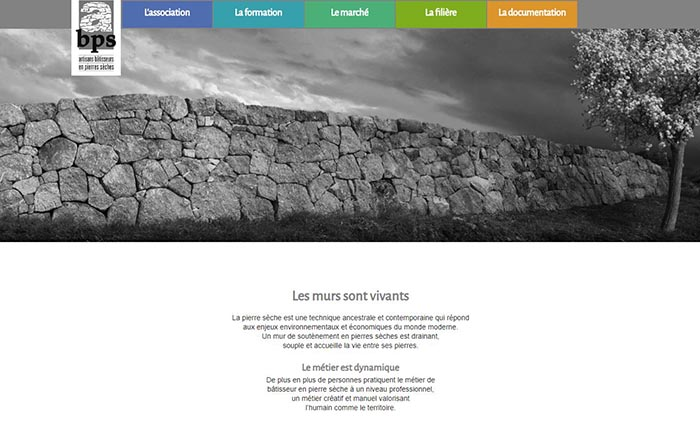 Page accueil site Réseau Français de la Construction Paille