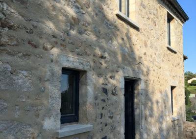 depierresetdebois-ucel100-rge-renovation-restauration-plafond-peuplier-isolation thermique-rejointoiement